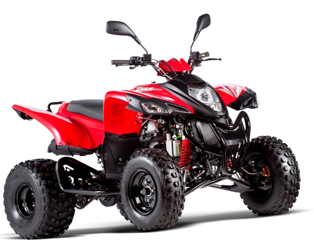 ADLY ATV 50RS RED
